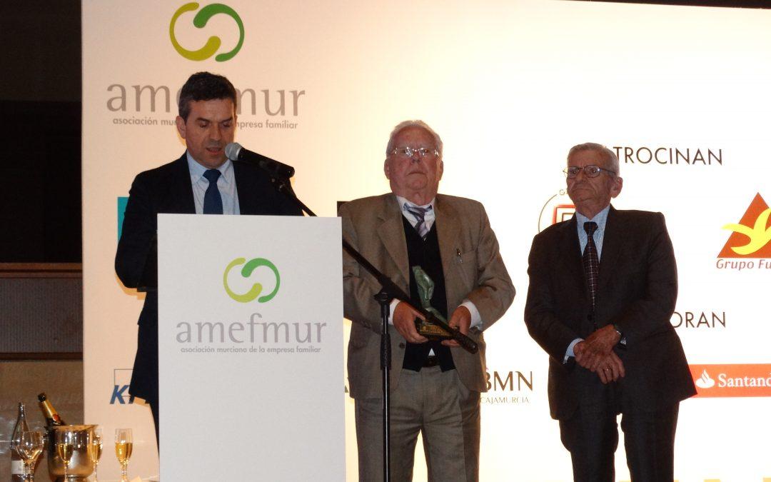El Mosca recibe el Premio Herentia de la Asociación Murciana de Empresa Familiar